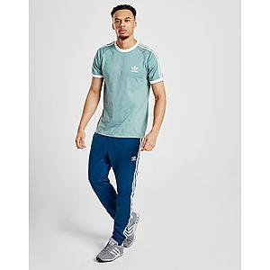 newest 959b9 004e1 ... adidas Originals 3-Stripes California Short Sleeve T-Shirt