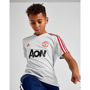 adidas Manchester United FC Training Shirt Junior ... aa275b0ba5b48