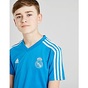 adidas Real Madrid Training Shirt Junior ... cab079a73c7e3