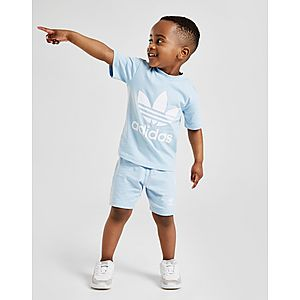 b32cdb30e adidas Originals Adicolour T-Shirt Shorts Set Infant ...