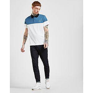 0e49ee5b793 Lacoste Tri Colour Block Polo Shirt Lacoste Tri Colour Block Polo Shirt