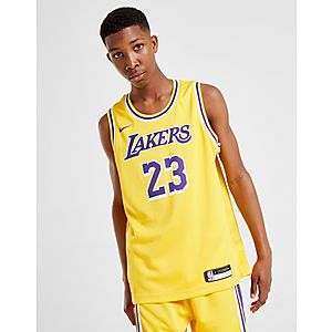 354f9a210 ... Nike NBA Los Angeles Lakers James  23 Jersey Junior Compra ...