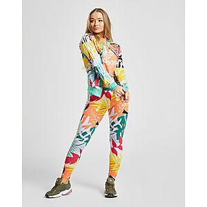 f885b69b0e04a ... adidas Originals chaqueta de chándal Tropical All Over Print