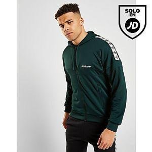 san francisco 603c8 598cd adidas Originals chaqueta con capucha Tape ...