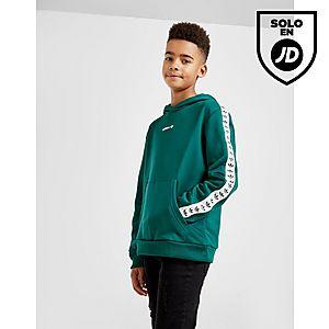 hot sale online a0050 be474 adidas Originals Tape Poly Hoodie Junior ...