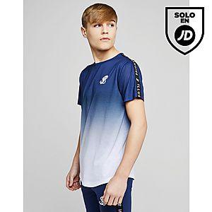 ILLUSIVE LONDON Tape Fade T-Shirt Junior ... dd1eaeb1edb