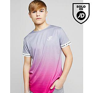 ILLUSIVE LONDON Tape Ringer Fade T-Shirt Junior ... a6c6016e08e