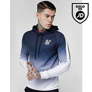 SikSilk Overhead Fade Hoodie ... a4bb0fa7591a4