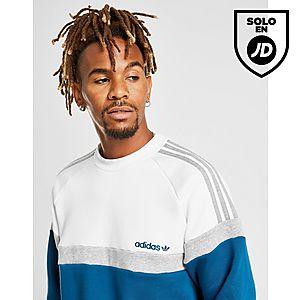 c81915cb40583 adidas Originals Itasca Crew Sweatshirt ...