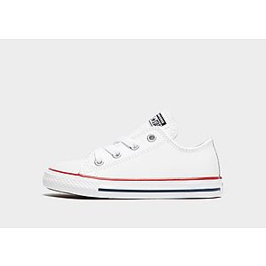 95728bed7f7 Converse All Star Leather para bebé ...