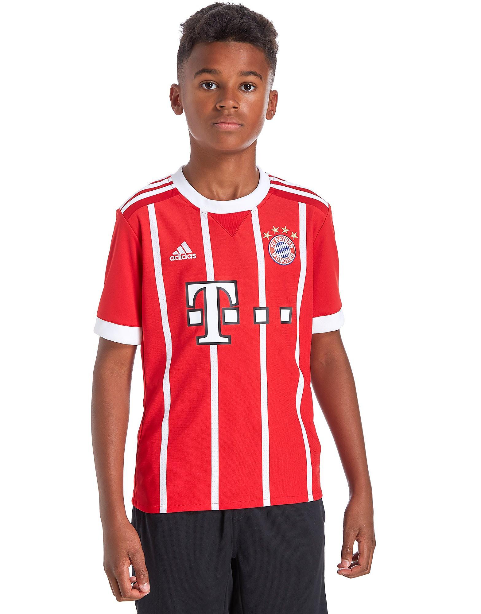 adidas camiseta FC Bayern de Múnich 2017/18 1.ª equipación júnior