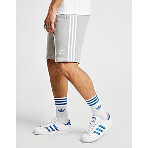 adidas Originals 3-Stripes Fleece Shortsit Miehet ... c1dde37c94