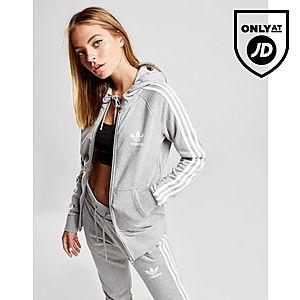 adidas Originals 3-Stripes California Full Zip Huppari Naiset ... c837deaabc