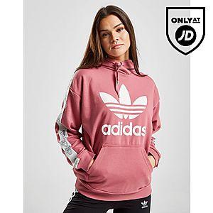 adidas Originals Tape Overhead Huppari Naiset ... 9b22ea55df