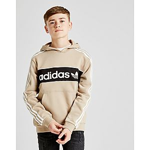 adidas Originals Linear Fleece Overhead Hoodie Junior ... 355d690bbe