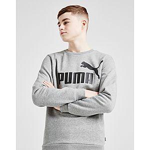PUMA Core Logo Crew Sweatshirt Juniorit PUMA Core Logo Crew Sweatshirt  Juniorit 18d42d0144