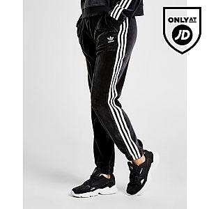 best sneakers 6dc3f 41e31 adidas Originals 3-Stripes Velvet Verryttelyhousut Naiset ...