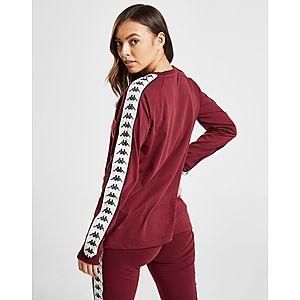 ... Kappa Banda Long Sleeve Boyfriend T-paita Naiset 499c952d2f
