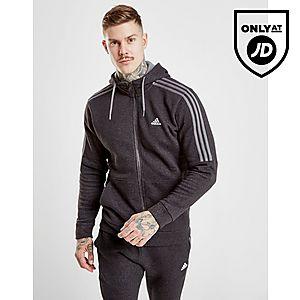 adidas Essential Full Zip Huppari Miehet ... 48807fb53c