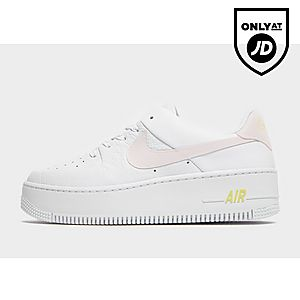 low priced 92488 f1560 Nike Air Force 1 Sage Low Naiset ...