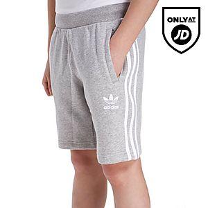 adidas Originals Trefoil Fleece Shorts Junior ... 37c5f2113b