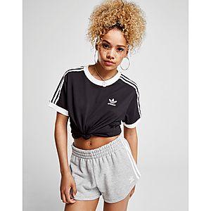 5f26cef6876cd adidas Originals T-shirt 3-Stripes California Femme ...