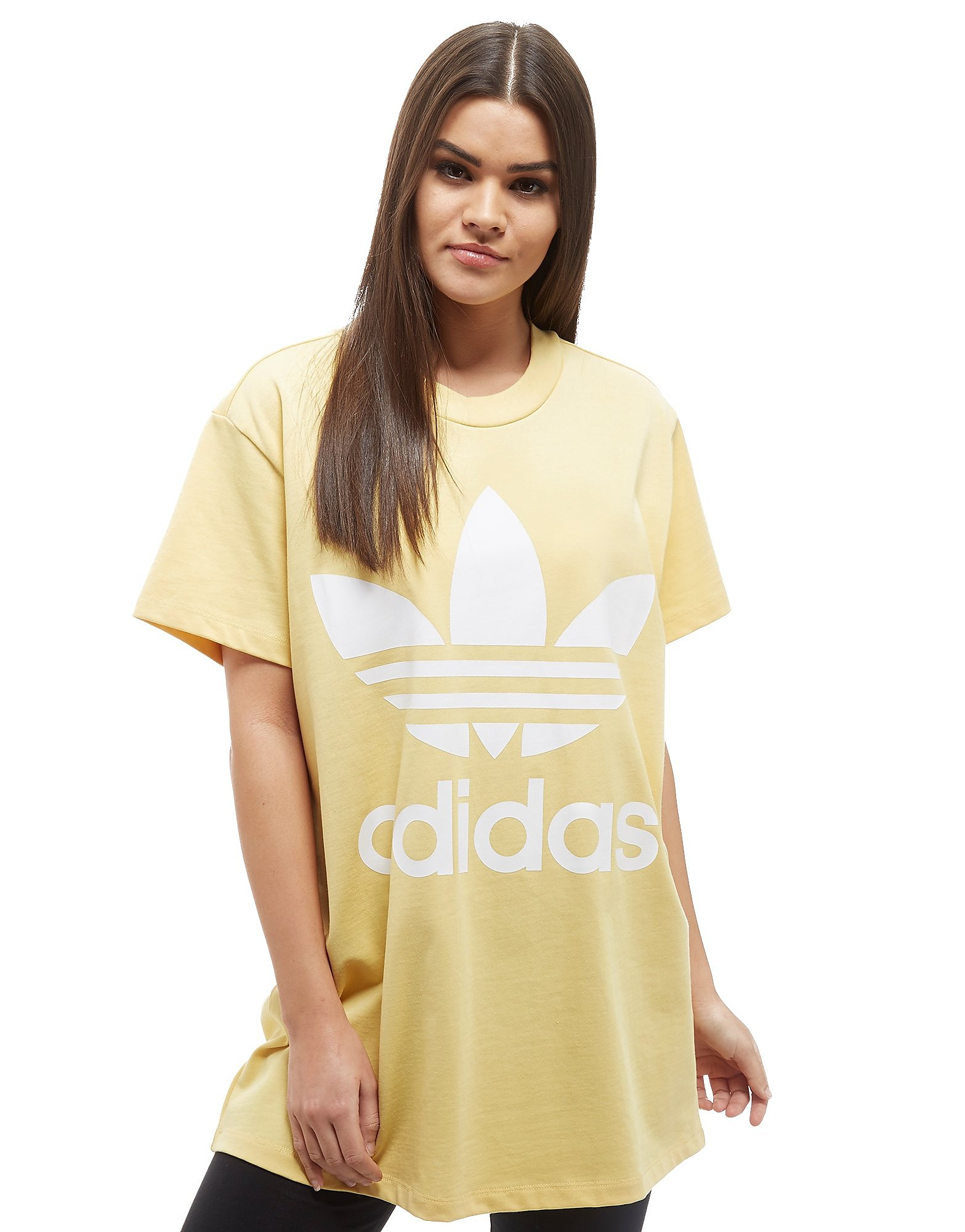 adidas Originals T-shirt Big Trefoil Femme