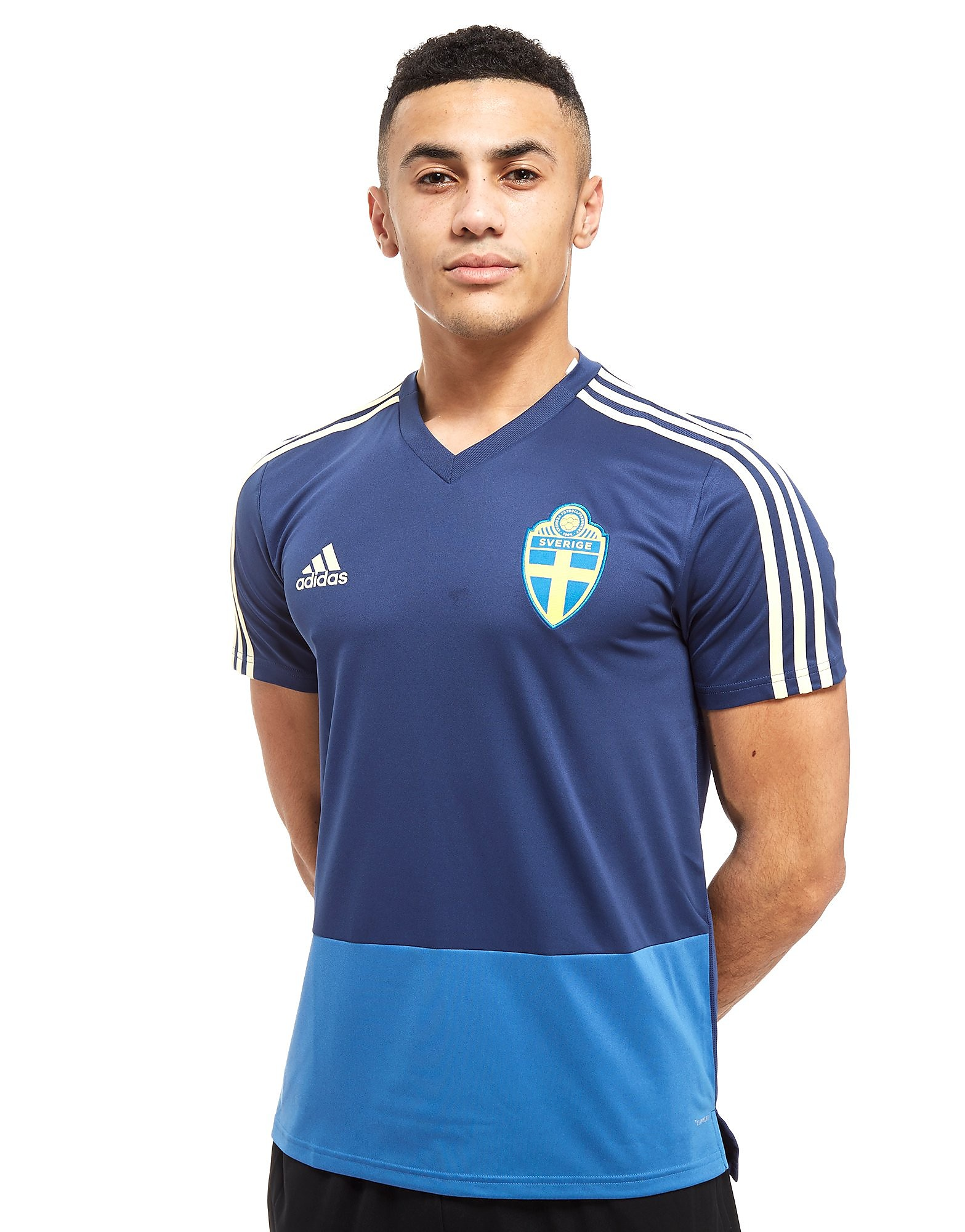 adidas Sweden 2018 Training Shirt Homme