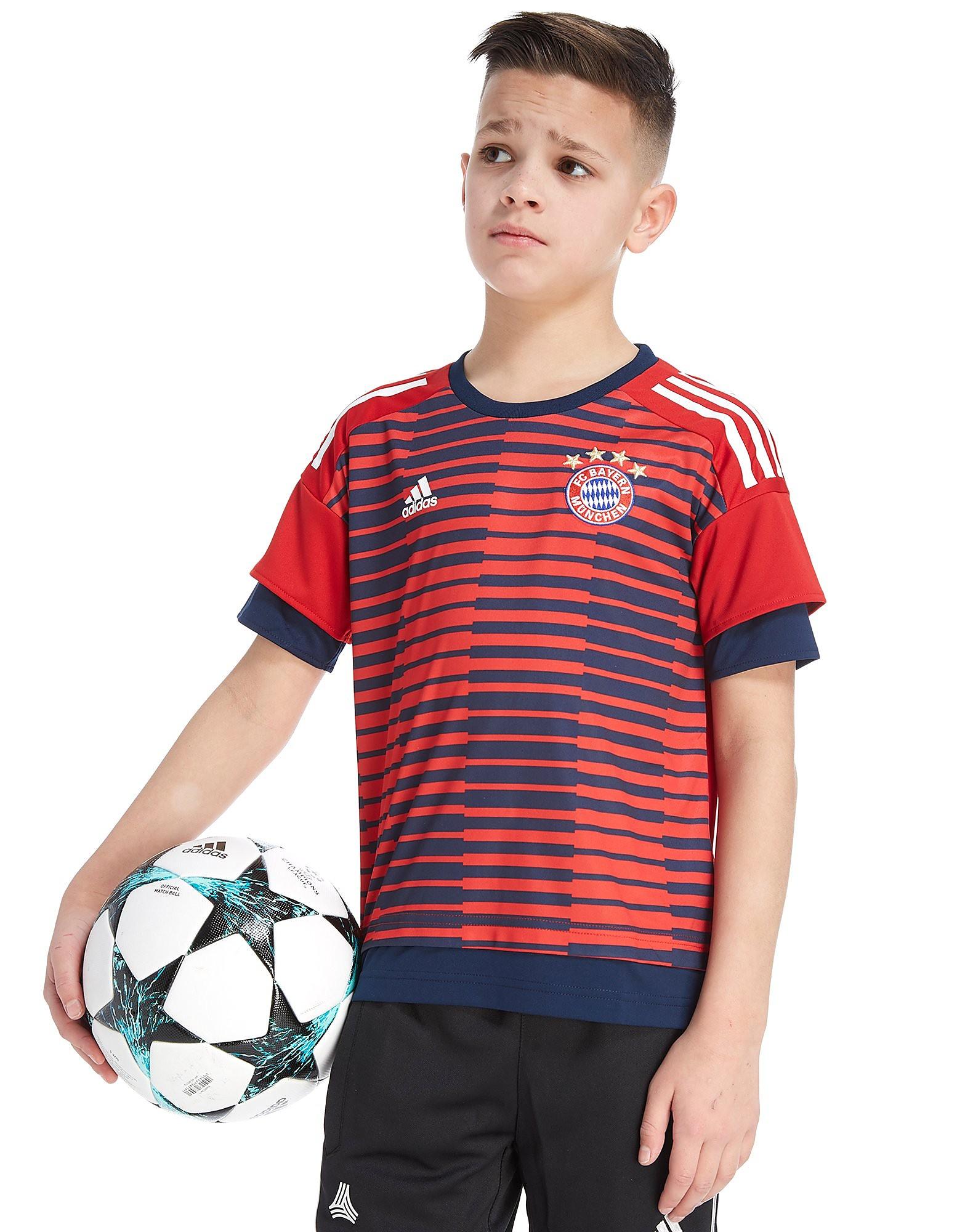 adidas Maillot d'avant match FC Bayern Munich 2018 Junior
