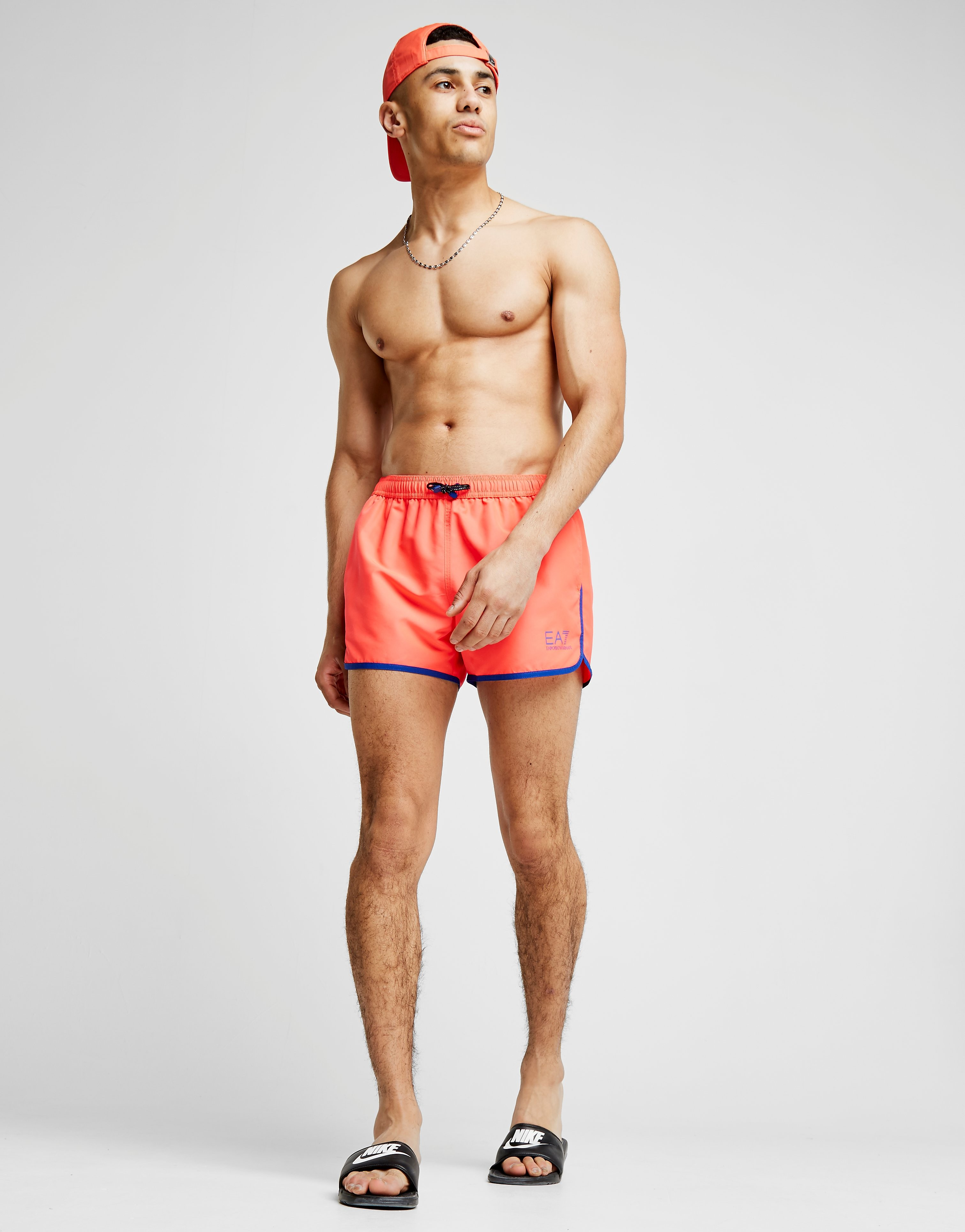 Emporio Armani EA7 Short de bain Fluo Core Homme