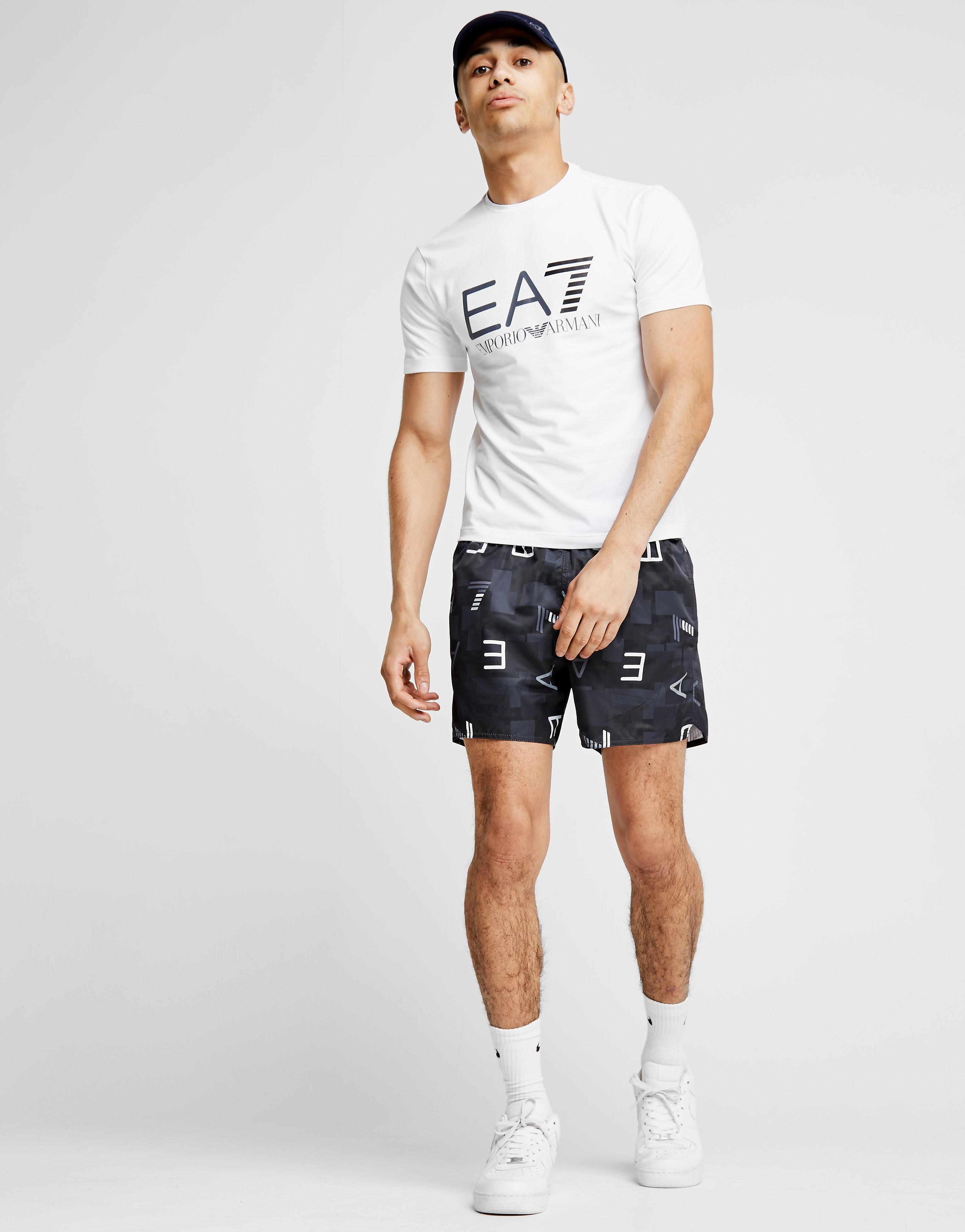 Emporio Armani EA7 T-shirt Logo Foil Homme
