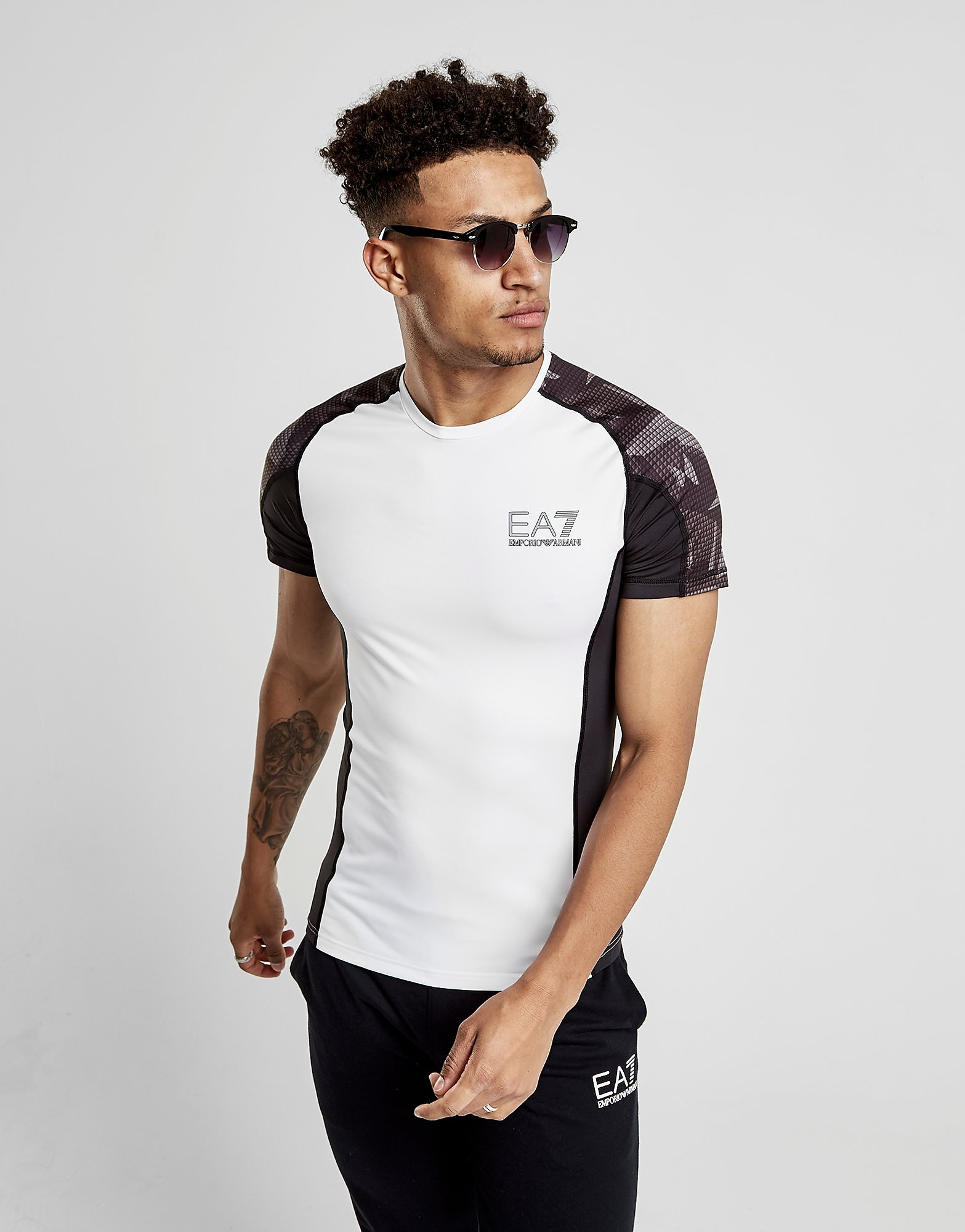 Emporio Armani EA7 T-shirt Poly Tech Homme