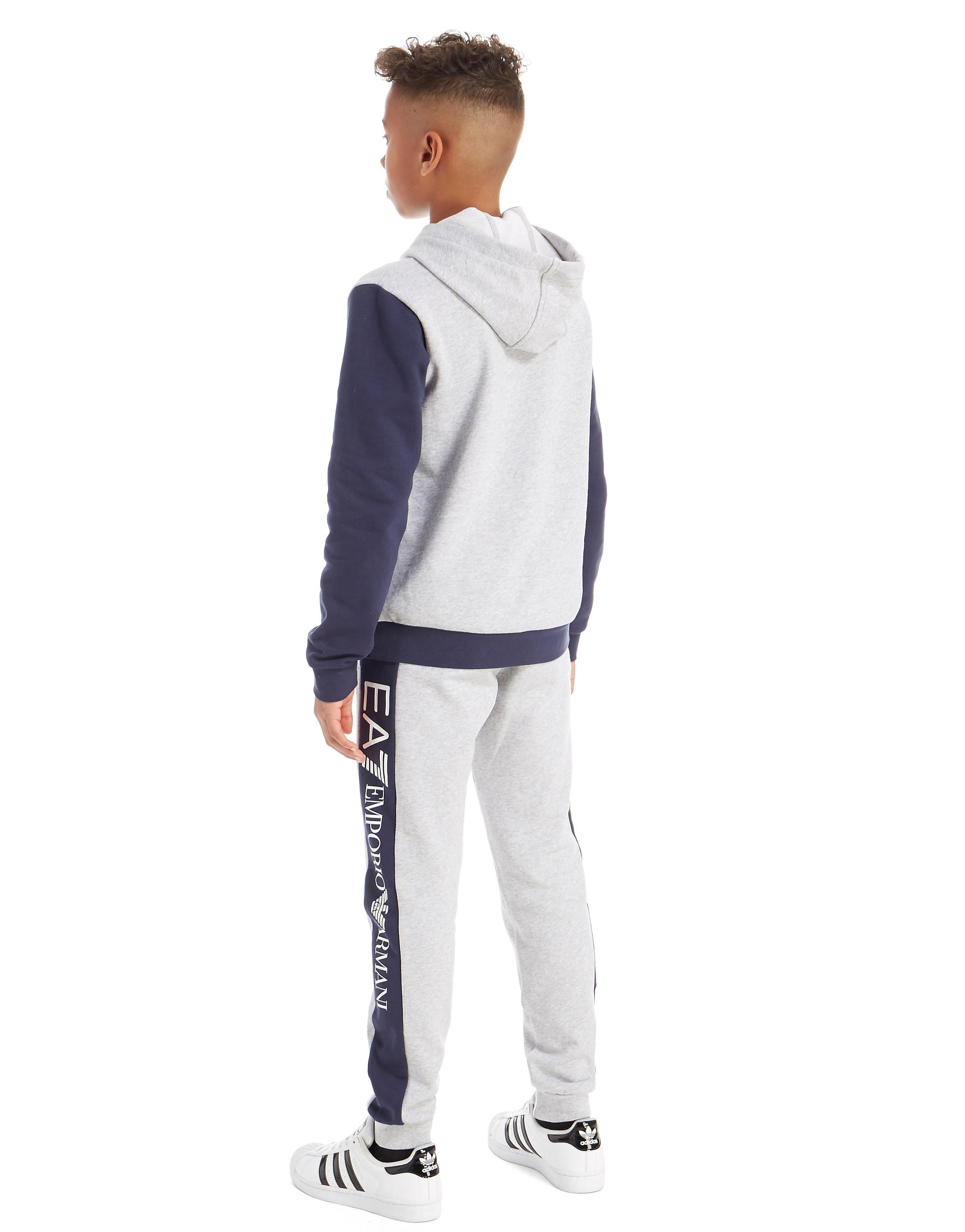 Emporio Armani EA7 Survêtement Colourblock Fleece Junior