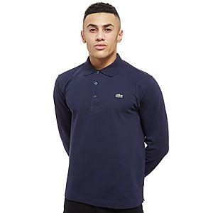 a65e0652431 Lacoste Alligator Long Sleeve Polo Shirt ...