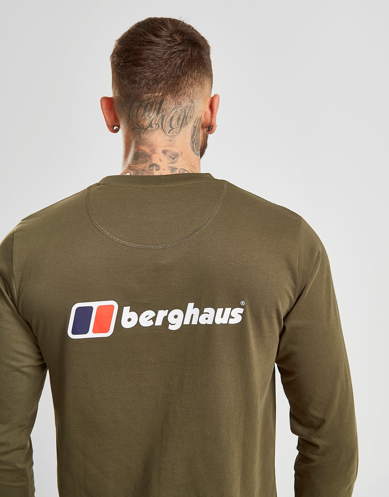 Berghaus T-shirt manches longues Back Logo Homme
