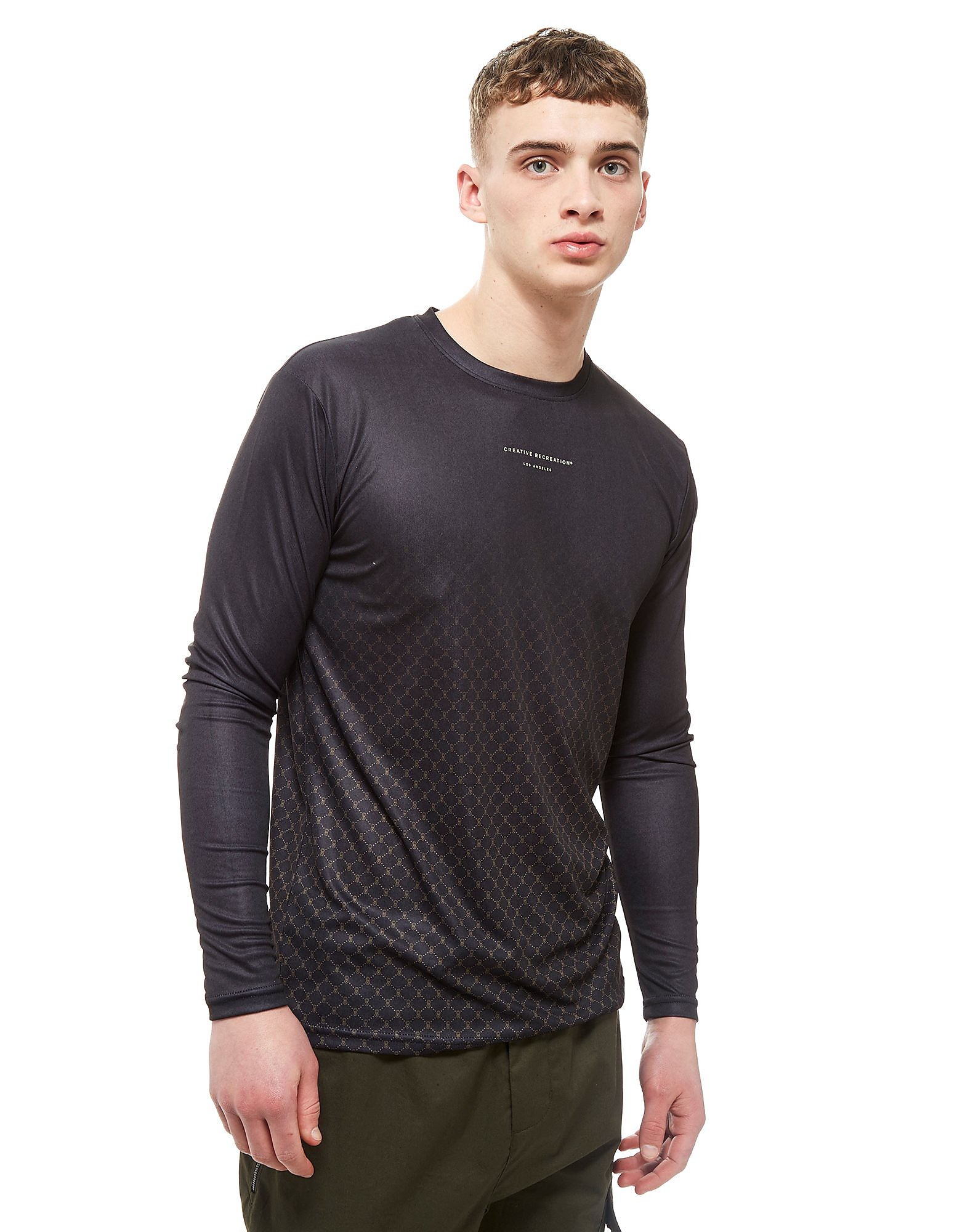 Creative Recreation T-shir manches longues House Pattern Ombre Homme