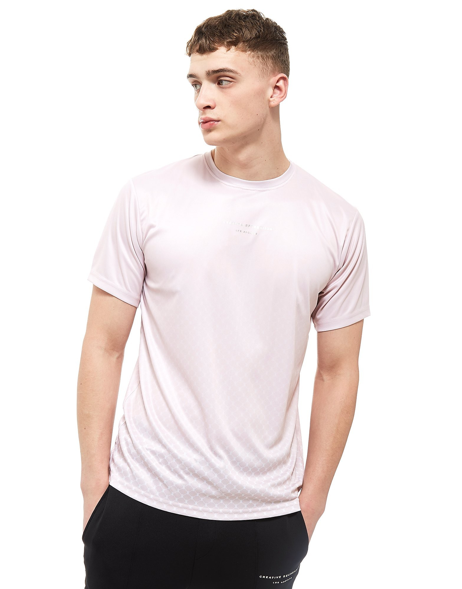 Creative Recreation T-shirt House Pattern Ombre Homme