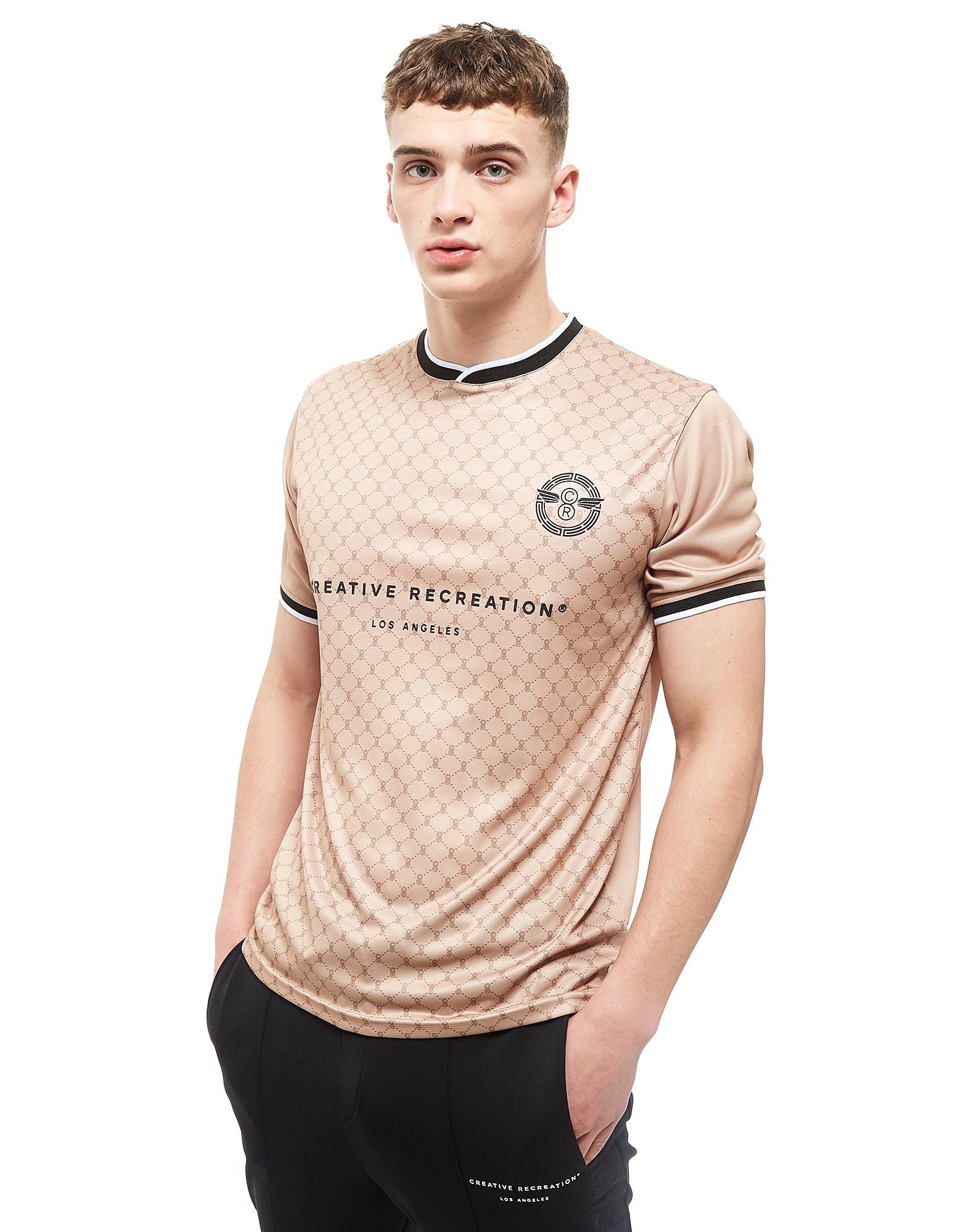 Creative Recreation T-shirt House Pattern Soccer Homme