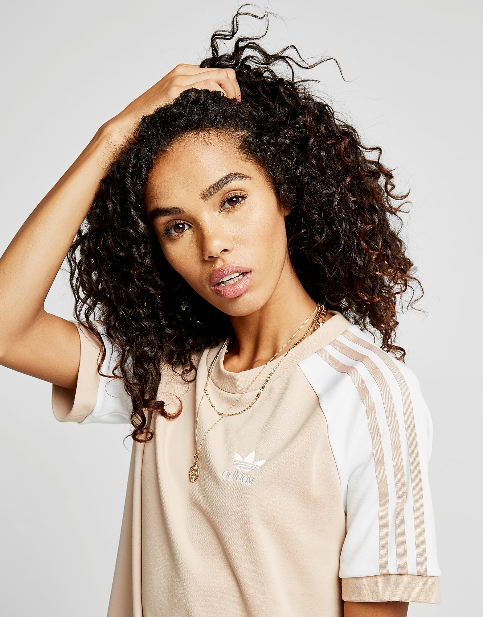 adidas Originals Robe T-Shirt Raglan California Femme