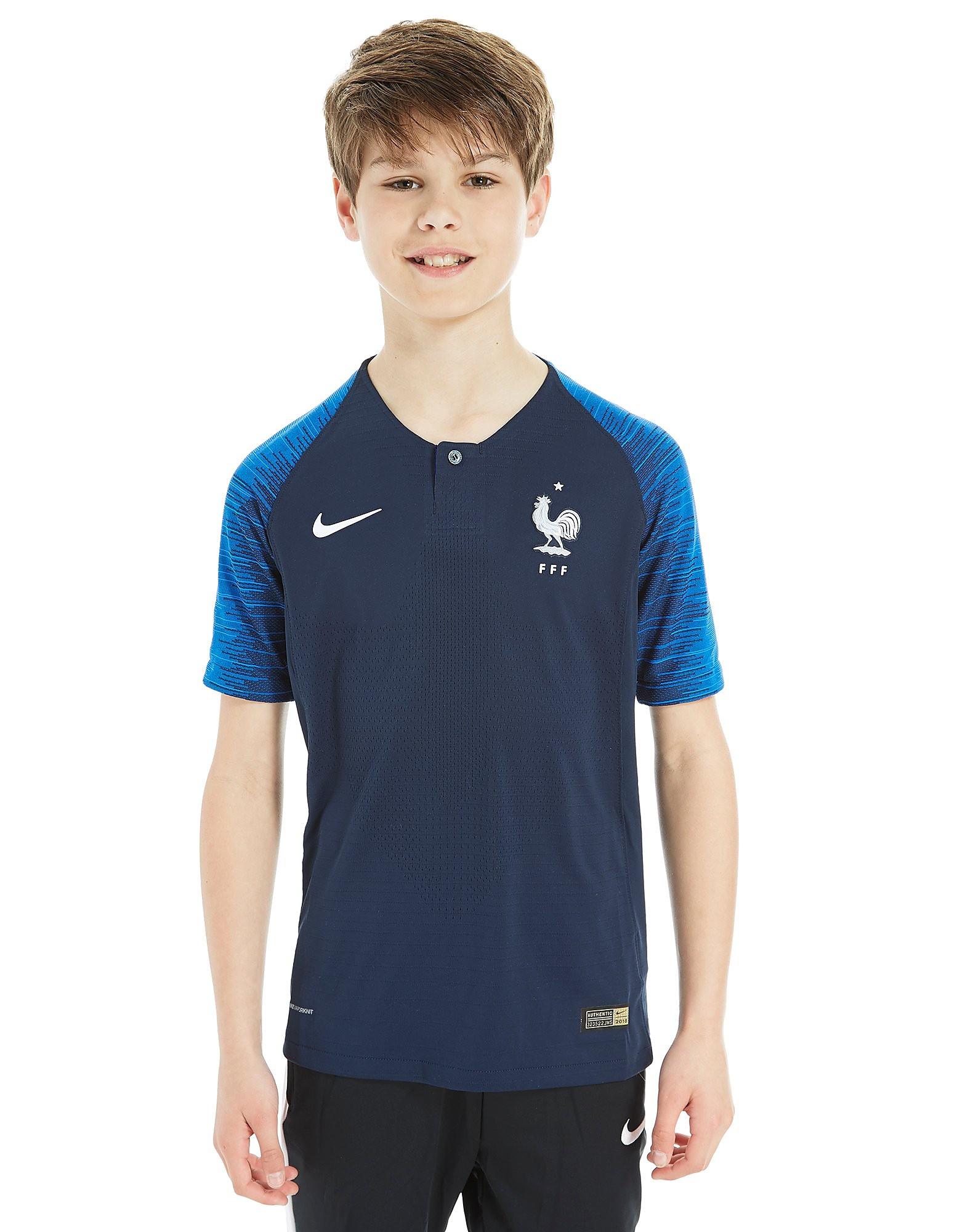 Nike Maillot Vapor Domicile France 2018 Junior
