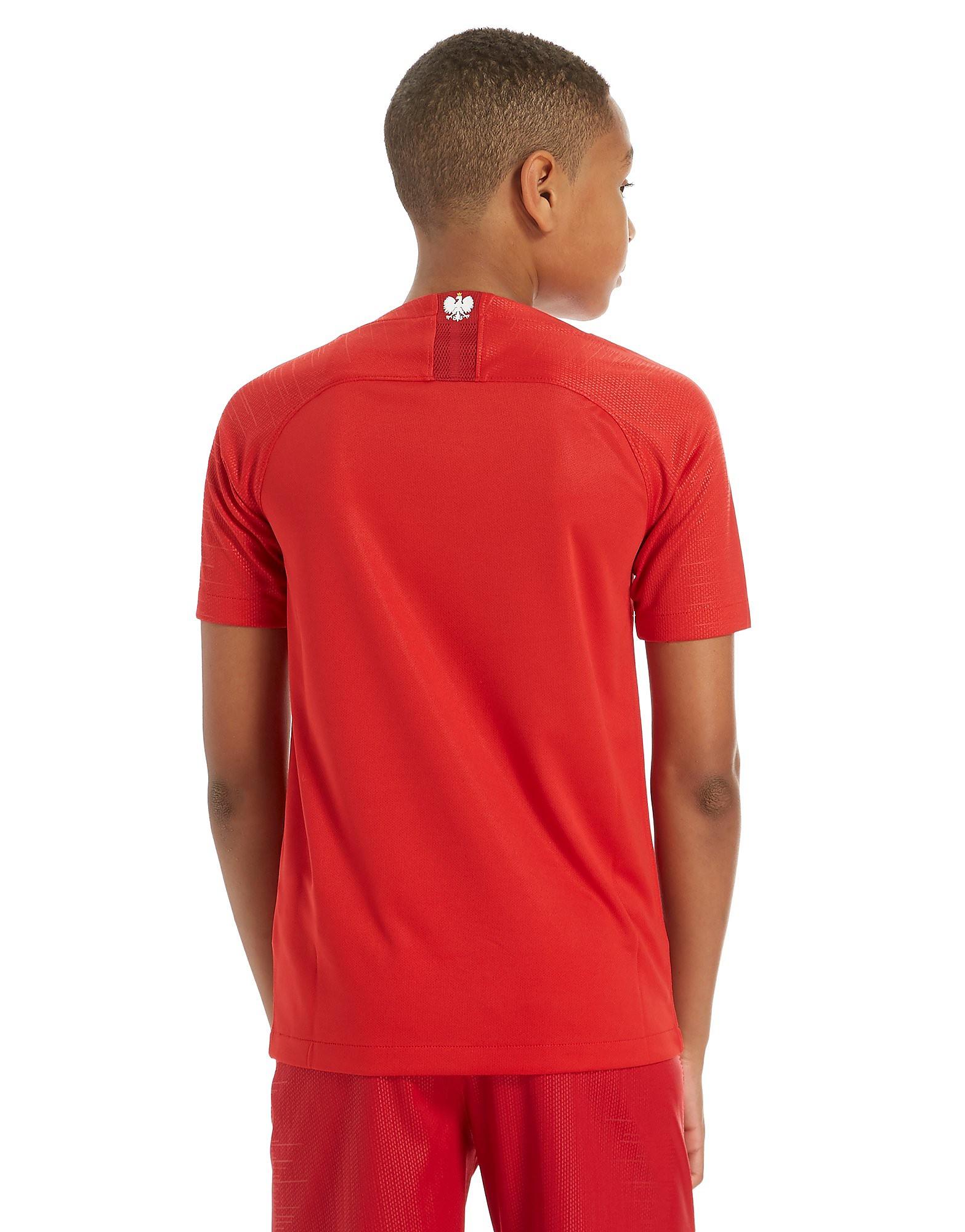 Nike Poland 2018 Away Shirt Junior