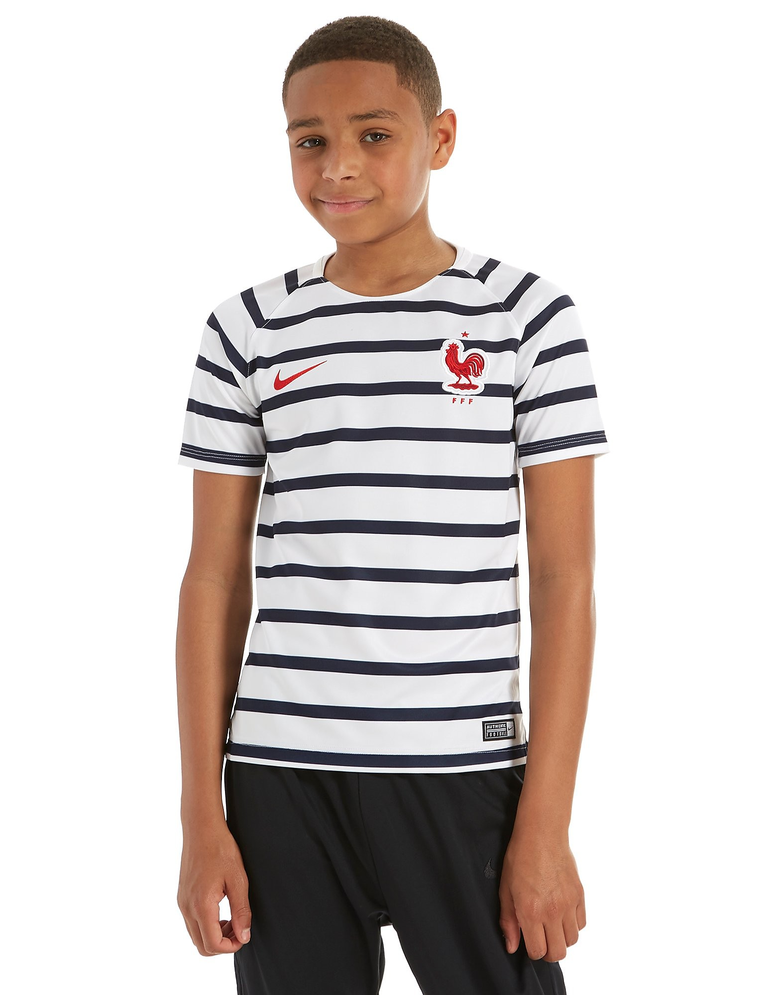 Nike Maillot d'avant match France Squad Junior