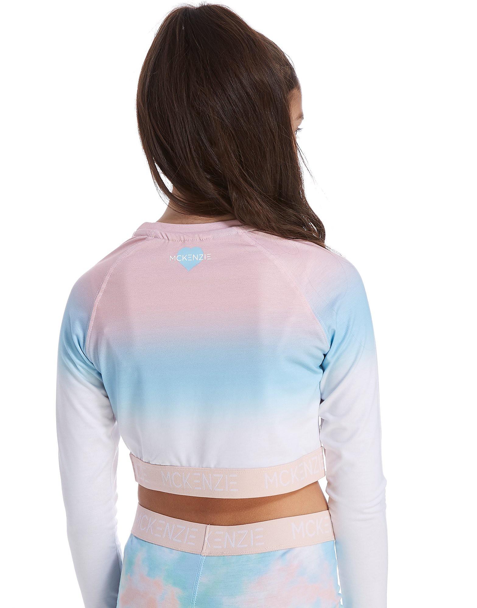 McKenzie Girls' Luna Long Sleeve Crop T-Shirt Junior