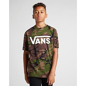 59d14b95887af Vans T-shirt All Over Print Camo Junior ...