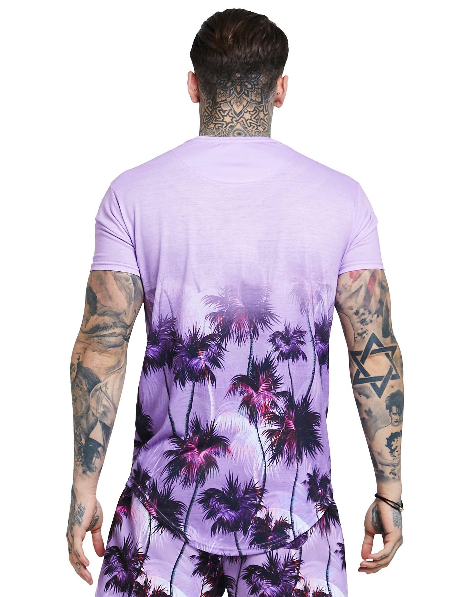 SikSilk Fade Palm T-Shirt