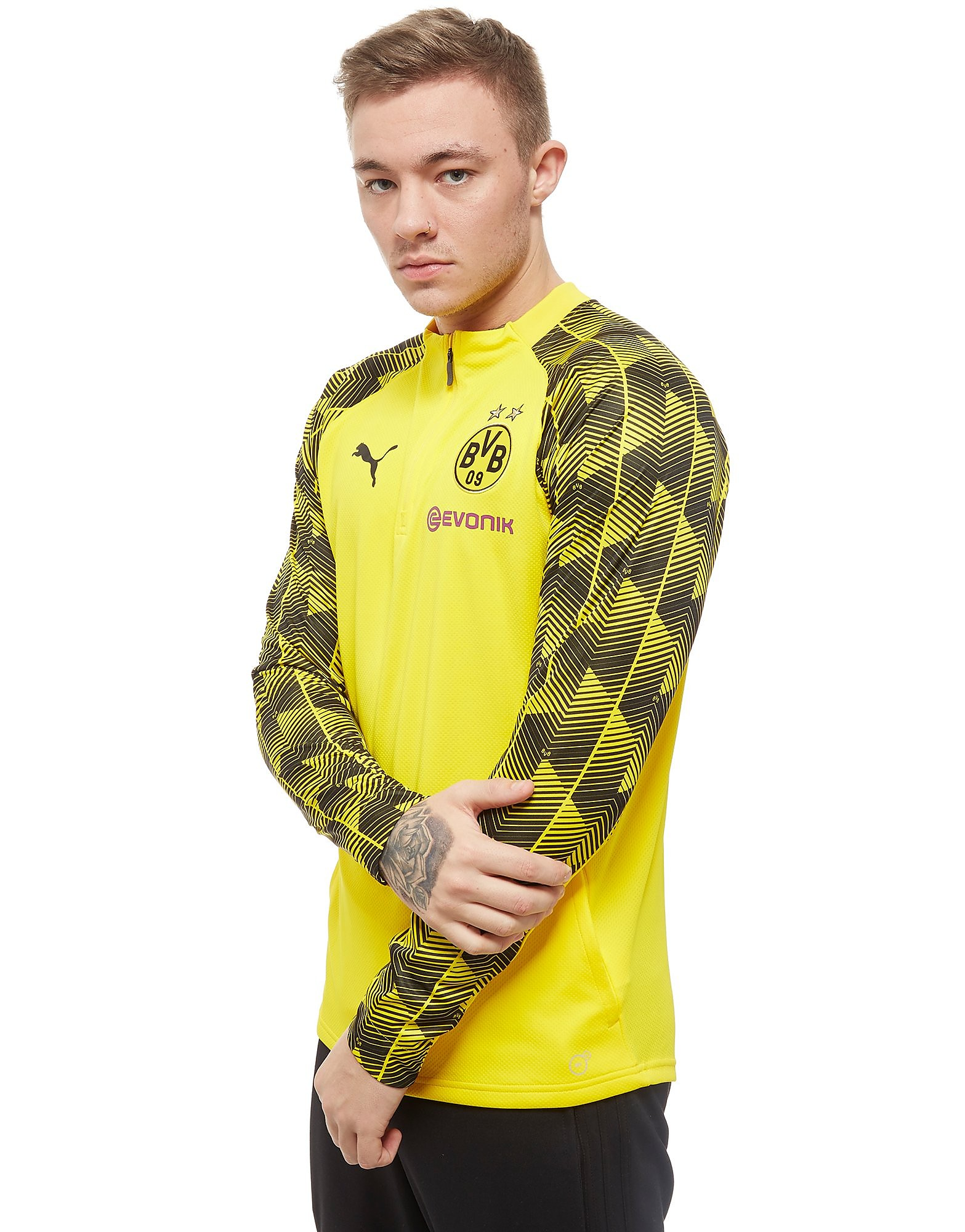 PUMA Borussia Dortmund 2018 1/4 Zip Training Top