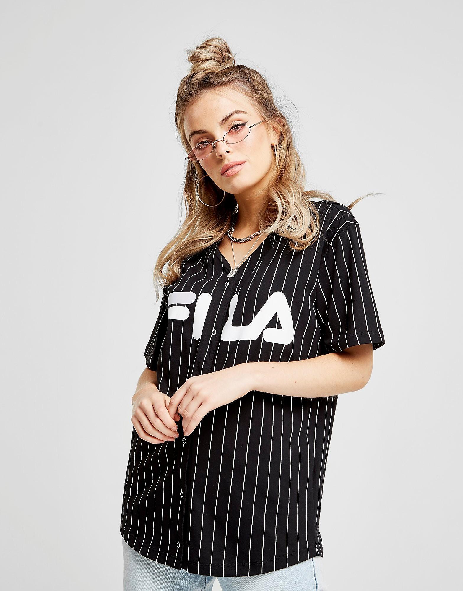Fila Stripe Baseball T-Shirt