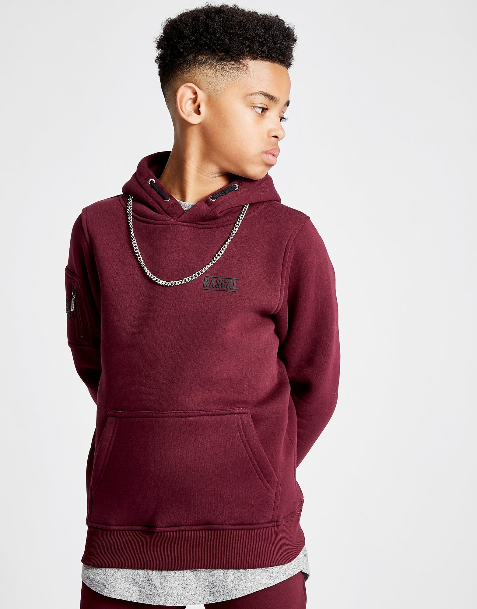 Rascal Essential Fleece Overhead Hoodie Junior