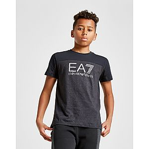 Emporio Armani EA7 T-shirt Color Block Junior ... a4c1f0ccab8