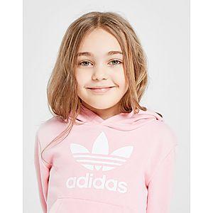 ac6f05d6ae5da ... adidas Originals Girls  Adicolour Overhead Tracksuit Children